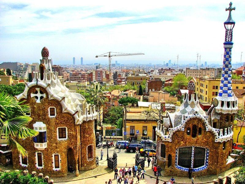 Park Guelj Barselona