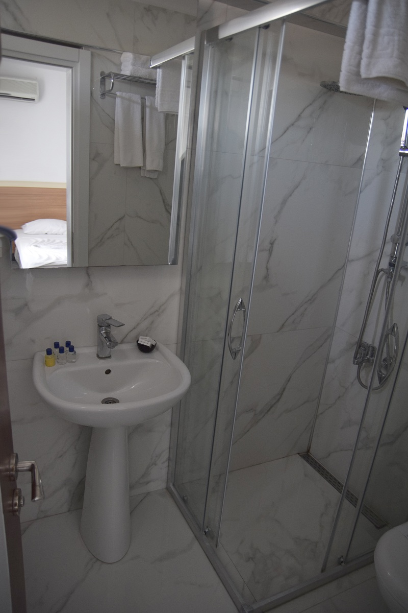 Hotel Amphora kupatilo