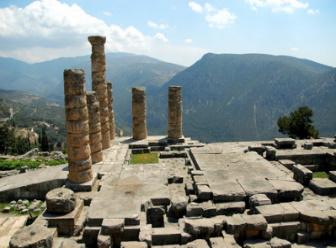 Delfi, Apolonov hram